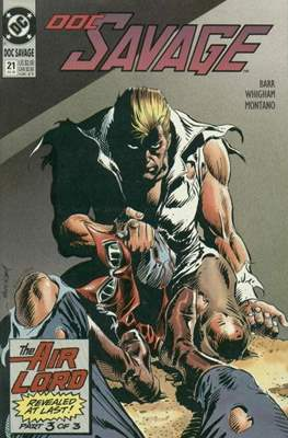 Doc Savage Vol 2 (1988-1990) (Comic-book.) #21