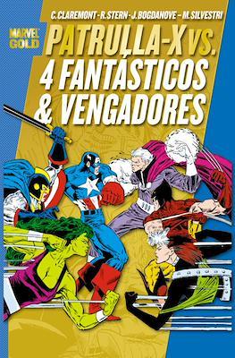 Patrulla-X vs. 4 Fantásticos y Vengadores - Marvel Gold