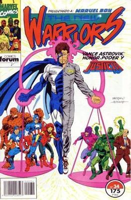 The New Warriors vol. 1 (1991-1995) (Grapa. 17x26. 24 páginas. Color. (1991-1995).) #34