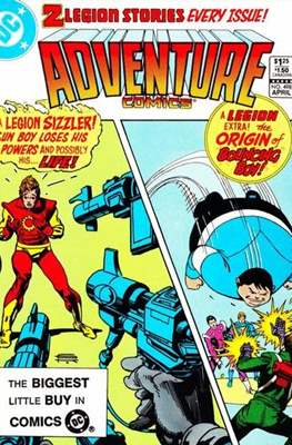New Comics / New Adventure Comics / Adventure Comics (1935-1983; 2009-2011) (Saddle-Stitched) #498