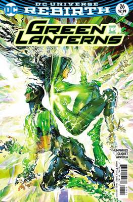 Green Lanterns (Vol. 1 2016-... Variant Covers) (Comic Book) #26.1