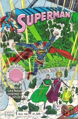 Supermán (1986-2001) (Grapa) #139