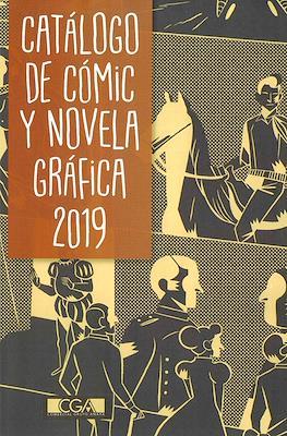Catálogo de Cómic y Novela Gráfica 2019