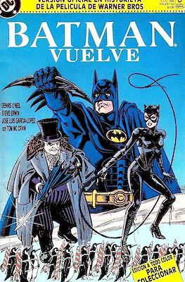 Batman vuelve: versión oficial en historieta de la película de Warner Bros