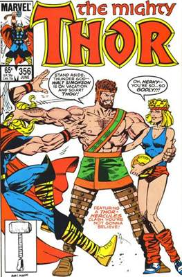 Journey into Mystery / Thor Vol 1 (Comic Book) #356
