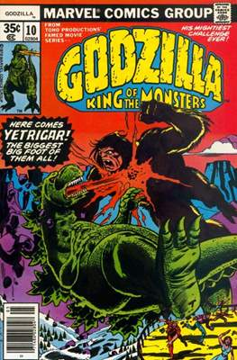 Godzilla King of the Monsters #10