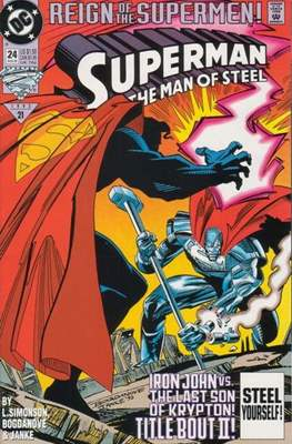 Superman: The Man of Steel (Comic book) #24