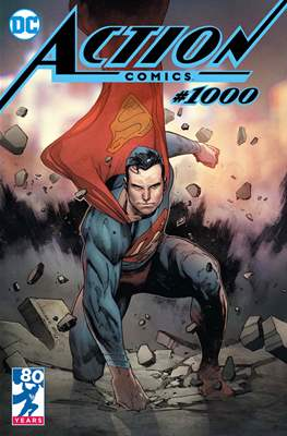Action Comics Vol. 1 (1938-2011; 2016-... Variant Covers) (Comic Book) #1000.11