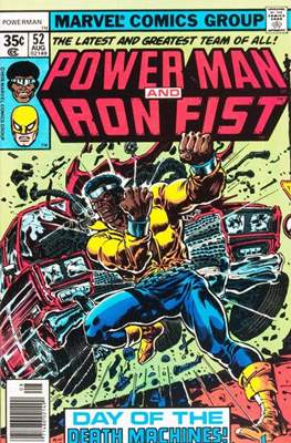 Hero for Hire / Power Man Vol 1 / Power Man and Iron Fist Vol 1 (Comic-Book) #52