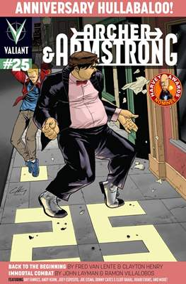 Archer & Armstrong (Comic Book) #25