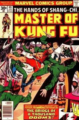 Master of Kung Fu (Comic Book. 1974 - 1983. Continued from Special Marvel Edition #16) #48