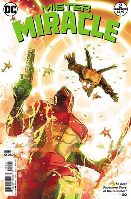 Mister Miracle (Vol. 4 2017- Variant Covers) (Comic Book) #2.1