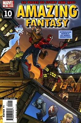 Amazing Fantasy Vol 2 (2004-2005) (Serie Regular, grapa, 48 páginas) #15