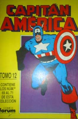 Capitán América Vol. 1 (1985-1992) (Retapado Rústica) #12