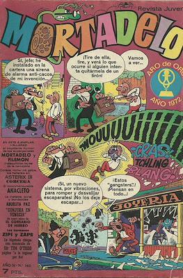 Mortadelo (1970) (Grapa) #140