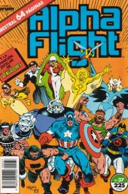 Alpha Flight vol. 1 / Marvel Two-in-one: Alpha Flight & La Masa vol.1 (1985-1992) (Grapa 32-64 pp) #37