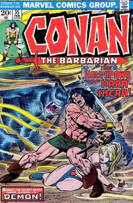 Conan The Barbarian (1970-1993) (Comic Book 32 pp) #35