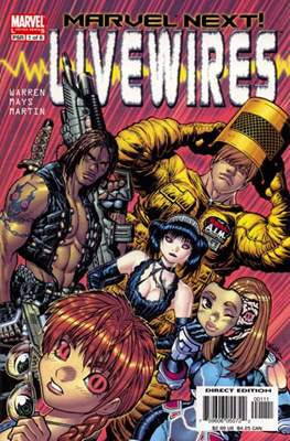 Livewires (Comic Book) #1