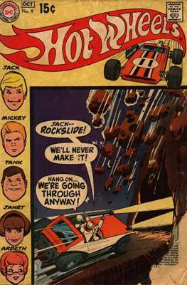 Hot Wheels (Comic Book) #4