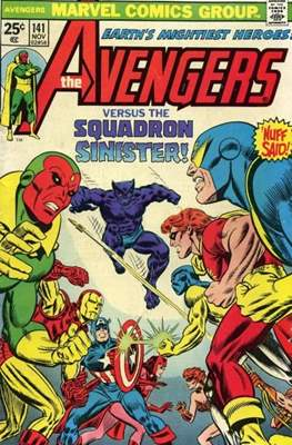 The Avengers Vol. 1 (1963-1996) (Grapa) #141