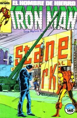 Iron Man Vol. 1 / Marvel Two-in-One: Iron Man & Capitán Marvel (1985-1991) (Grapa, 36-64 pp) #25