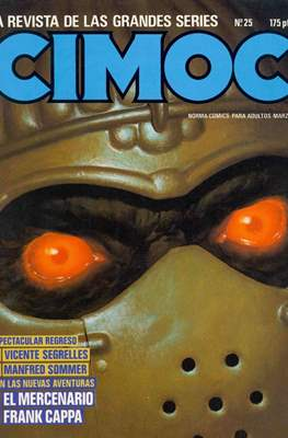Cimoc (Grapa 60-132 pp) #25