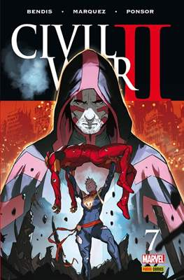 Civil War II (2016-2017) (Grapa. Color) #7
