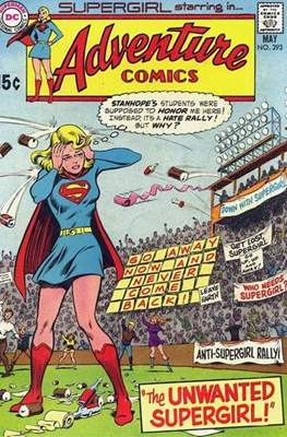 New Comics / New Adventure Comics / Adventure Comics (1935-1983; 2009-2011) (Saddle-Stitched) #393