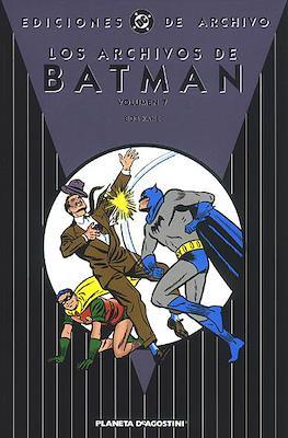 Los Archivos de Batman (Cartoné) #7