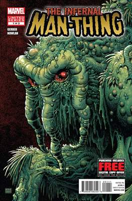 The Infernal Man-Thing (2012) (Grapa) #1