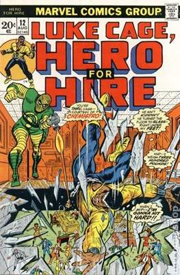 Hero for Hire / Power Man Vol 1 / Power Man and Iron Fist Vol 1 (Comic Book) #12