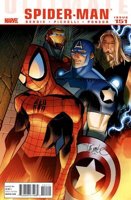Ultimate Spider-Man (2000-2009; 2011) (Comic-Book) #151