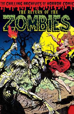 The Chilling Archives of Horror Comics (Hardcover) #18