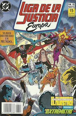 Liga de la Justicia Europa (1989-1992) (Grapa) #15