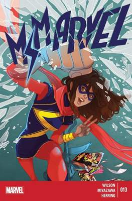 Ms. Marvel (Vol. 3 2014-2015) (Grapa) #13