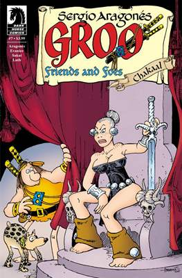 Groo Friends and Foes (2015-2016) (Grapa) #7