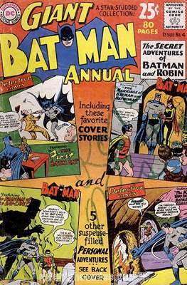 Batman Vol. 1 Annual (1961 - 2011) #4