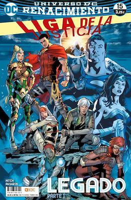 Liga de la Justicia. Nuevo Universo DC / Renacimiento (Grapa) #70/15