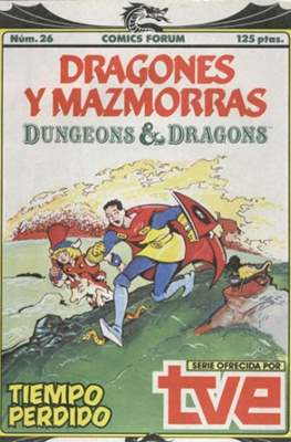 Dungeons and dragons. Dragones y mazmorras (Grapa 32 pp) #26