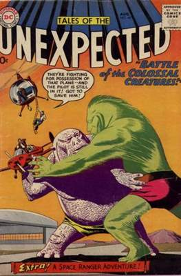 Tales of the Unexpected (1956-1968) (Comic Book) #40