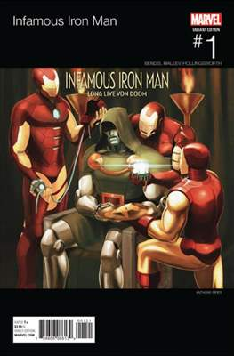 Infamous Iron Man Vol. 1 (Variant Covers) #1.3