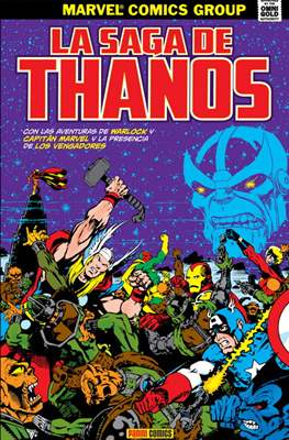 La saga de Thanos. Marvel Gold (Omnigold)