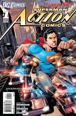Superman Action Comics Showcase