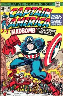 Captain America Vol. 1 (1968-1996) (Comic Book) #193