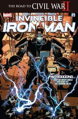 Invincible Iron Man (Vol. 2 2015-2017) (Comic-book) #9