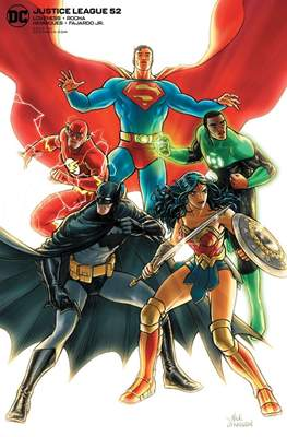 Justice League Vol. 4 (2018- Variant Cover) #52