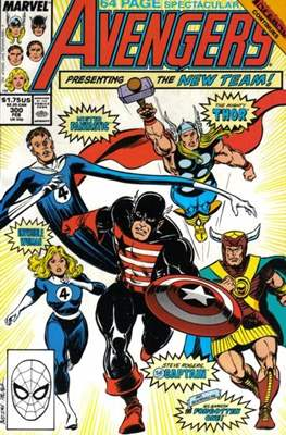 The Avengers Vol. 1 (1963-1996) (Grapa) #300