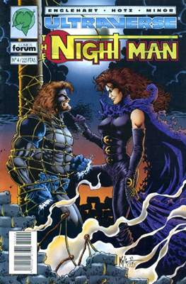 The Night Man. Ultraverse (Grapa 24 pp) #4