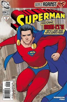 Superman Vol. 1 / Adventures of Superman Vol. 1 (1939-2011) (Comic Book) #694
