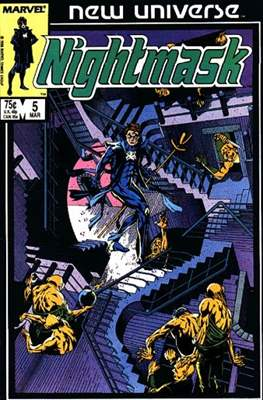 Nightmask (Comic-book.) #5